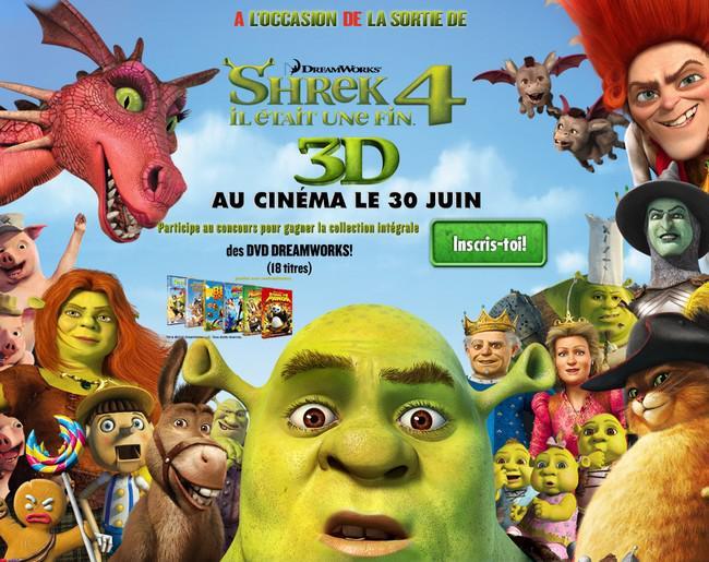 {Shrek 4, Flashs et Concours ::