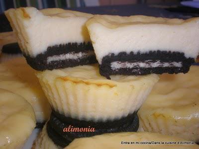 Oreo cheese cakes