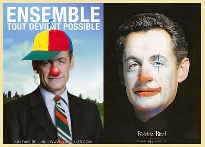 Le Cirque UMP et ses clowns.