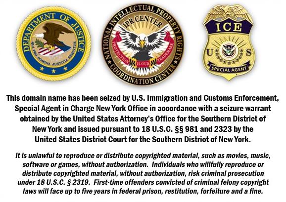 Coup de filet contre 9 sites américains de warez