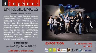 Diaphane en Résidences à la Bourse du travail en Arles