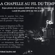 Exposition Photo « La Chapelle au fil du Temps »