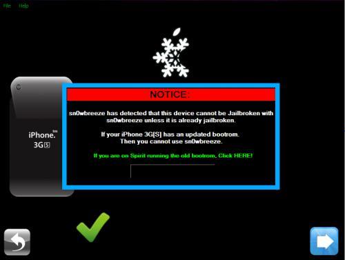 Jailbreak iOS 4 | Sn0wbreeze 1.6.2