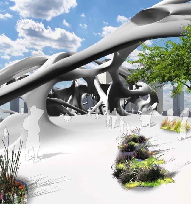 Ecotectonics, une hybridation entre un aquarium et un parc public à New York - 3