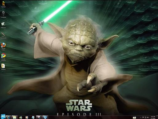 stars wars 15 superbes thèmes pour Windows Seven gratuits