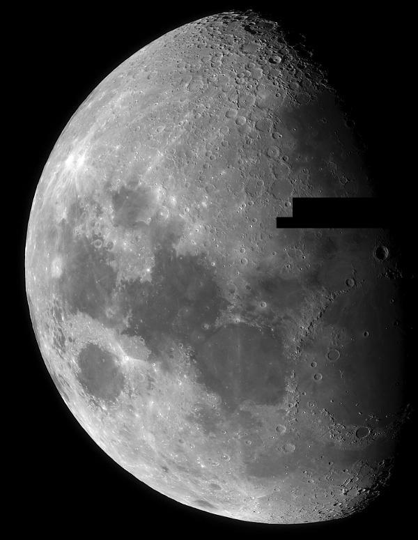 Image de la Lune par Pierre-Alain Arnaud