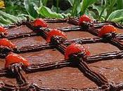 Tarte choco-fraises