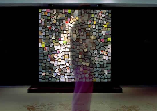Les miroirs mécaniques de DANIEL ROZIN