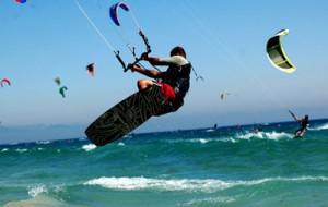 Kyte surf à Lacanau