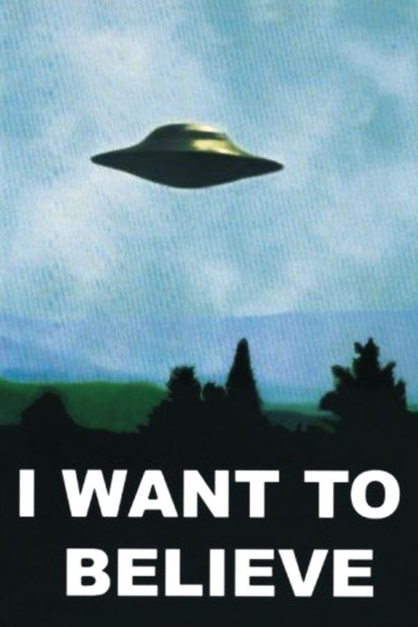 [Achat] Poster «I want to believe»