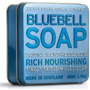 Scottish Fine Soaps - A01163 - Savon Jacinthe des Bois - Boîte Métallique - 100g (Import Grande Bretagne)