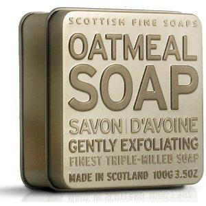 Scottish Fine Soaps - A01164 - Savon d'Avoine - Boîte Métallique - 100g (Import Grande Bretagne)