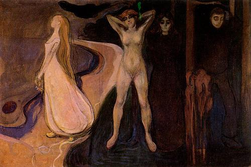 Avant Klimt… les-jolies-choses:  Edvard Munch, Femme à...