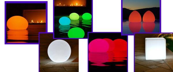 Les lampes et les couleurs