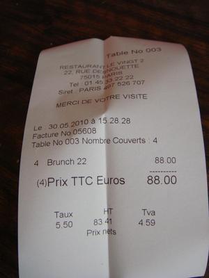 20100530 Le Vin%28gt%29 deux Brunch 0 Brunch au Vin(gt) deux, rue Desnouettes (ChrisoScope)
