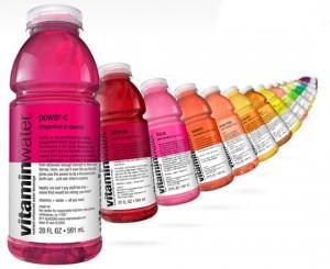 Vitaminwater, l'eau en couleurs
