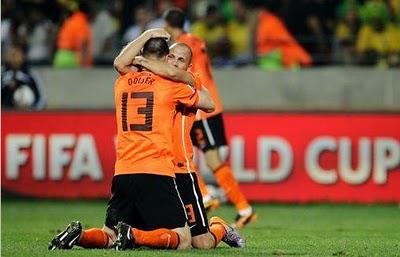 Coupe du Monde 2010: la Hollande surprend le Brésil!
