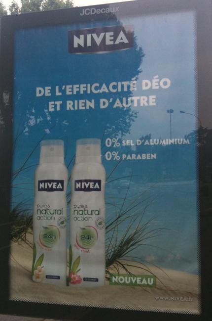Campagne « Pure & Natural Action » : Nivea Remet Une Couche De Naturel
