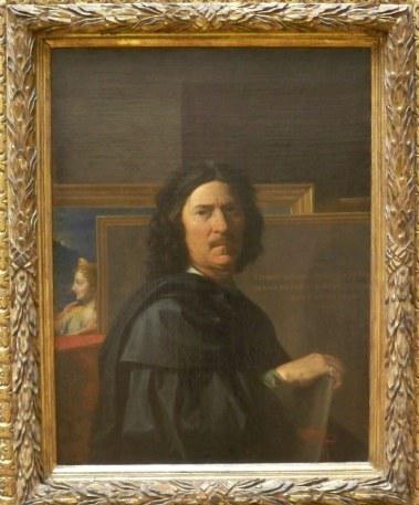 Pousin autoportrait