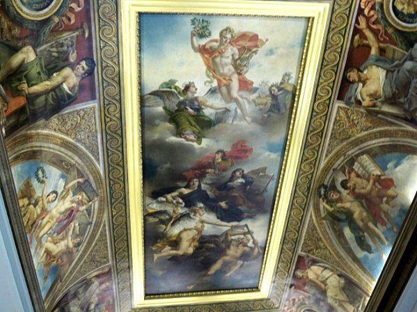 Triomphe peinture