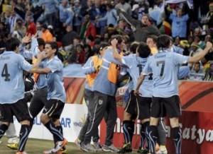 L'Uruguay bat un gentil Ghana
