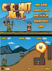 L'app gratuite du 3 juillet est un jeu : 'Coconut Riot' un très bon jeu d'habileté/destruction qui passe GRATUIT pour 24h !