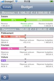 """La Lite """"Découverte"""" du 3 juillet est iCompta 2 : une app complète, belle et professionnelle pour votre comptabilité personnelle"""