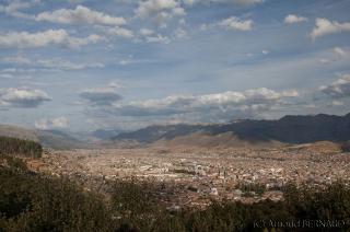 Belle vue sur la ville de Cuzco