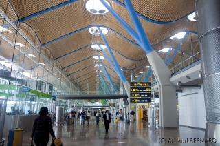 Salle d'embarquement du nouveau terminal de Madrid