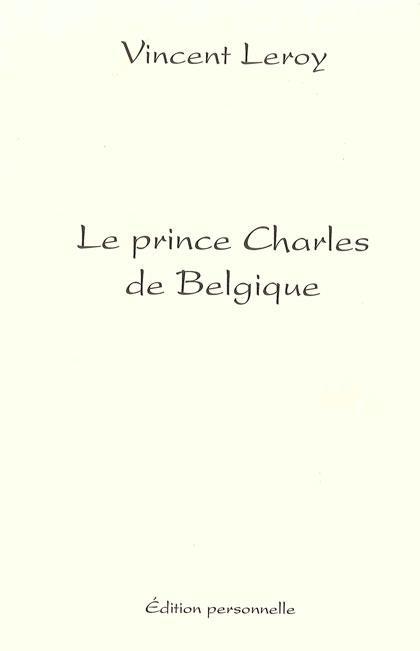Le prince Charles de Belgique
