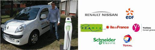 L'alliance Renault-Nissan expérimente ses voitures électriques !