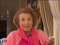bettancourt Liliane Bettencourt aime les hommes intélligents