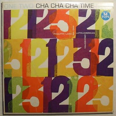 1960s Paquitin Lara ONE TWO CHA CHA CHA TIME Vintage Vinyl Record LP Album Cover.jpg