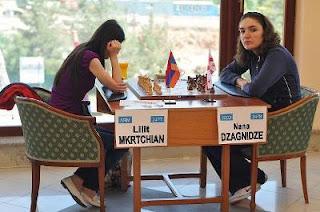 Echecs en Arménie : Lilit Mkrtchian face à Nana Dzagnidze © site officiel