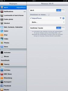 Tuto: Utiliser et Partager la connexion Internet de votre iPhone avec votre iPad, votre Mac