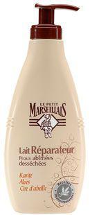 Lait Réparateur, Le Petit Marseillais, où comment je me suis réconcilié avec les laits corporels !