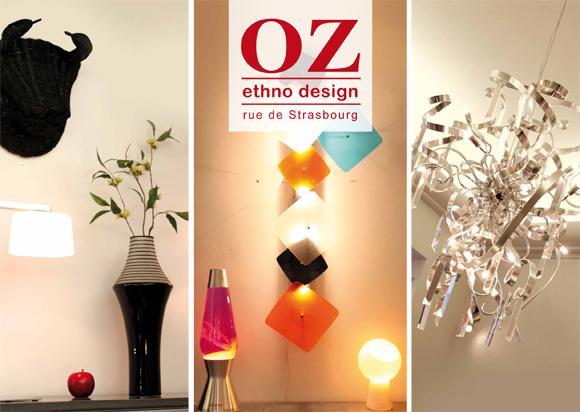 OZ, jeunes créateurs et design pointu