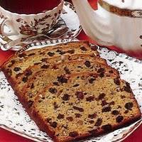 Cake aux raisins et au rhum