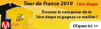 Tour de France 2010 : 1ère étape !