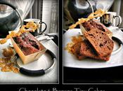 Petits Cakes Banane Chocolat (vegan, sans oeuf plv)