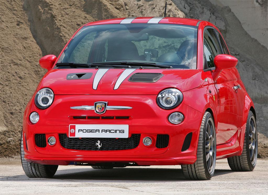 Fiat 500 Pogea Ferrari.