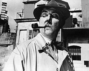 Jacques Tati avec pipe