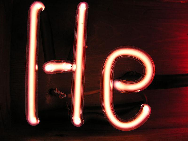 Combien d'Helium ?