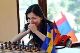 Echecs en Arménie : Lilit Mkrtchian © site officiel
