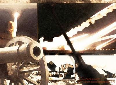 Artilleries, le thème de juillet d'AGS