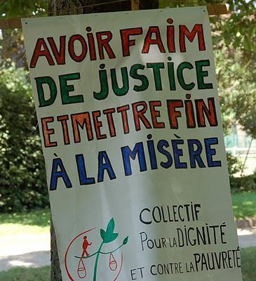 Marche pour la dignité à Lyon