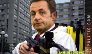 Nettoyage Karcher Sarkozy demission gouvernement