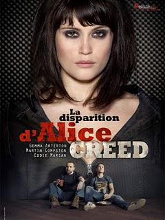 LA DISPARITION D'ALICE CREED de J Blakeson