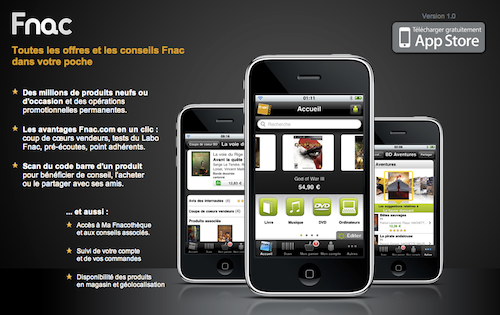 Application Fnac.com