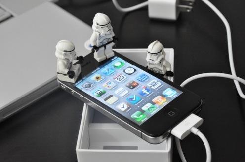 star wars iphone 4